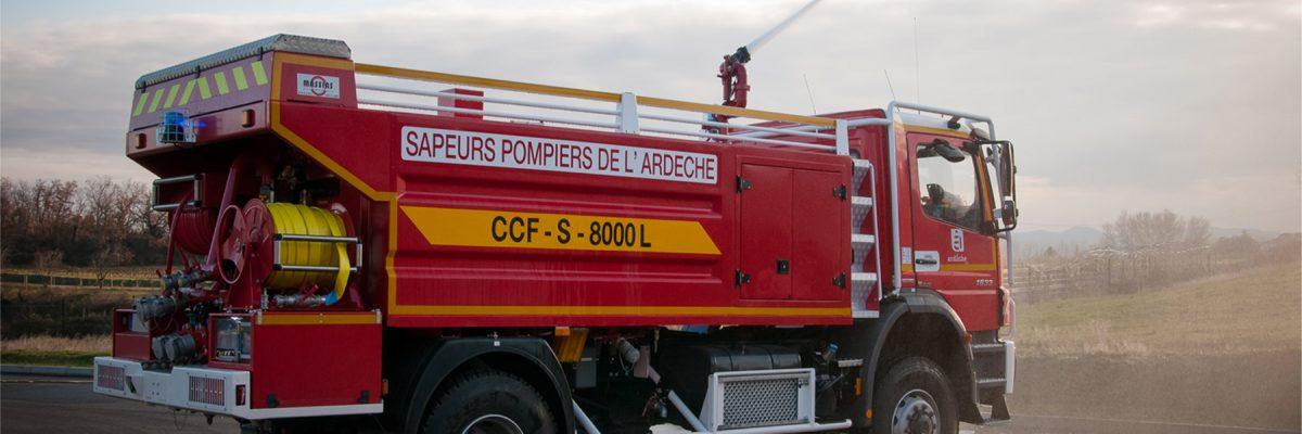 Sapeurs-pompiers de l'Ardèche