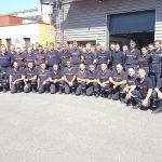 Retour du 1er contingent ardéchois de Corse