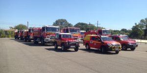 Les sapeurs-pompiers de l'Ardèche reprennent le chemin de la Corse