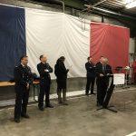 Le capitaine Lionel Lepaulmier a pris le commandement du centre d'incendie et de secours d'Aubenas
