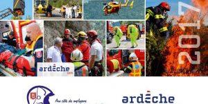Les sapeurs-pompiers de l'Ardèche vous présentent leurs meilleurs voeux