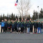 Une délégation ardéchoise présente au cross-country régional des sapeurs-pompiers Auvergne-Rhône-Alpes à Saint-Germain-Laprade en Haute-Loire