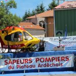 Les sapeurs-pompiers de Coucouron ont fêté leurs 70 ans