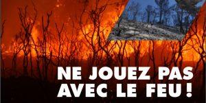 L'Entente pour la forêt méditerranéenne et le SDIS de l'Ardèche sensibilisent le grand public à la problématique des incendies de forêts