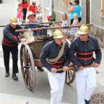 Les sapeurs-pompiers de l'Ardèche ont célébré la  journée nationale des sapeurs-pompiers sur la montagne ardéchoise à l'occasion du 63ème congrès départemental