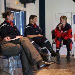 Table ronde animée par Carlo Zaglia, sapeur-pompier volontaire expert en communication au SDIS du Gard