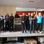 Le 6ème cross-country bidépartemental des sapeurs-pompiers Drôme-Ardèche a eu lieu à Solérieux dans la Drôme