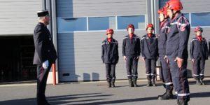 Le centre d'incendie et de secours du Béage a fait l'objet d'une passation de commandement