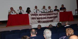 Le SDIS de l'Ardèche et l'Union départementale des sapeurs-pompiers mettent en place une équipe départementale de soutien