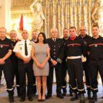 5 sapeurs-pompiers ardéchois au Défilé du 14 juillet à Paris