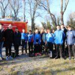 La 7ème édition du cross-country des sapeurs-pompiers de l'Ardèche et de la-Drôme s'est déroulée à Alba-la-Romaine