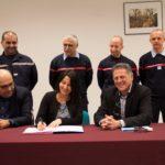 La convention financière pour la construction du nouveau centre d'incendie et de secours de Saint-Félicien est signée