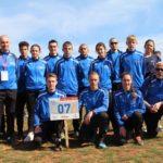 Une délégation du SDIS de l'Ardèche au 59ème cross national de sapeurs-pompiers