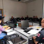 Les chefs de centres d'incendie et de secours, chefs de services et adjoints en séminaire