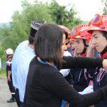 Journée d'accueil des nouveaux incorporés sapeurs-pompiers volontaires au corps départemental de l'Ardèche