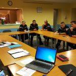 Le comité de direction a repris la tournée des centres d'incendie et de secours