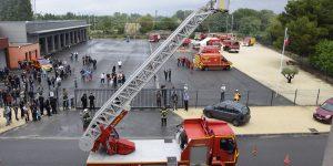 Les sapeurs-pompiers du Teil ont ouvert les portes de leur caserne au grand public