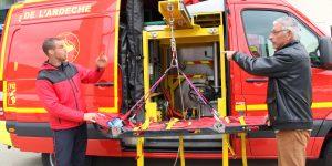 Les sapeurs-pompiers de l'Ardèche partenaires des rencontres de la sécurité intérieure