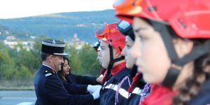 De nouvelles incorporations sapeurs-pompiers volontaires au SDIS de l'Ardèche