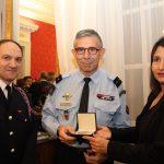 Une délégation de la Brigade des Sapeurs-Pompiers de Paris en Ardèche
