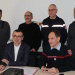 Un nouvel employeur partenaire de sapeurs-pompiers volontaires
