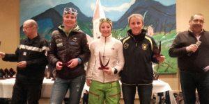 Championnat de France de ski alpin sapeur-pompier : une ardéchoise remporte plusieurs podiums