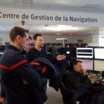 Immersion et découverte en milieu professionnel pour des officiers de sapeurs-pompiers professionnels en formation à l'ENSOSP