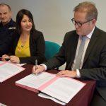 Le SDIS de l'Ardèche s'engage dans une politique d'achat responsable en matière de marché de travaux avec la fédération du BTP de Drôme et d'Ardèche