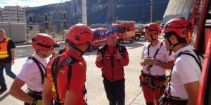Les sapeurs-pompiers de l'Ardèche en exercice au CNPE de Cruas-Meysse