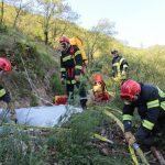 Trois niveaux intégrés dans la formation feux de forêts, une première sur le département