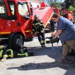 Les sapeurs-pompiers du Pouzin s'emparent du phénomène «Mannequin Challenge »