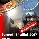 Manifestation d'envergure à l'occasion de la Journée nationale des sapeurs-pompiers et Congrès départemental des sapeurs-pompiers de l'Ardèche