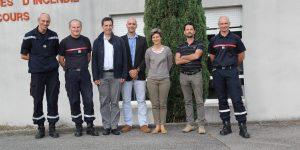 Des cadres d'EDF du CNPE de Cruas-Meysse se forment à l'organisation des secours