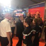 Les jeunes sapeurs-pompiers de Tournon-sur-Rhône prennent la troisième place du Rallye des JSP au congrès national des sapeurs-pompiers à Ajaccio