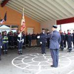 Le sapeur 1ère classe Stéphane Reyrolle a été institué comme chef du centre d'incendie et de secours de Saint-Alban-d'Ay