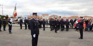 Le sergent-chef Emmanuel Tomaszewski est à la tête du centre d'incendie et de secours de Vernosc-lès-Annonay