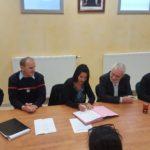 Deux conventions signées favorisant la disponibilité des sapeurs-pompiers volontaires d'Eclassan et de Sarras pour la garde de leurs enfants en périscolaire