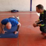 Les membres du comité de direction testent leur condition physique