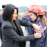 Les nouveaux arrivants sapeurs-pompiers volontaires à la découverte de l'institution du SDIS de l'Ardèche et de son environnement