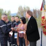 Les portes-drapeaux du SDIS de l'Ardèche à l'honneur
