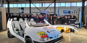 Le SDIS de l'Ardèche se dote d'un 3ème véhicule pédagogique de simulation de situations d'accidents