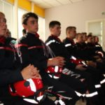 30 nouvelles recrues au SDIS de l'Ardèche issus essentiellement des sections de jeunes sapeurs-pompiers
