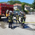La formation initiale d'été des sapeurs-pompiers volontaires vient de se terminer